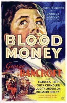 Blood Money (1933) cover