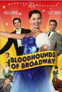 Bloodhounds of Broadway (1952) cover