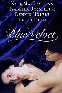 Blue Velvet 1986 poster