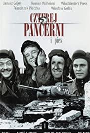Czterej pancerni i pies 1966 poster