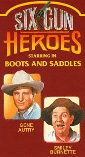Boots and Saddles (1937) cover