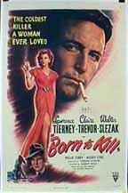 Born to Kill (1947) cover