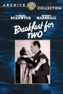 Breakfast for Two (1937) cover
