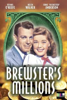 Brewster's Millions (1945) cover