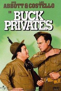 Buck Privates (1941) cover