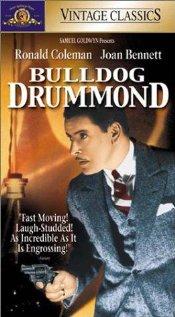 Bulldog Drummond (1929) cover