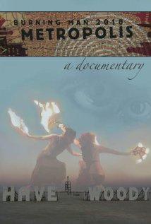 Burning Man: Metropolis 2012 poster