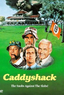Caddyshack (1980) cover