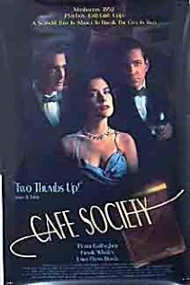 Cafe Society 1995 poster