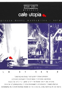 Cafe Utopia 1994 poster