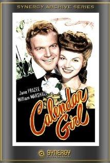 Calendar Girl 1947 poster