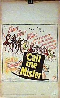Call Me Mister (1951) cover