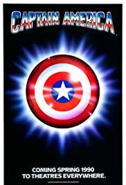 Captain America (1990) cover