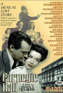 Carnegie Hall (1947) cover