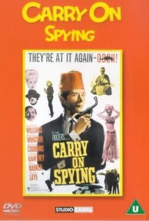 Carry on Spying (1964) cover