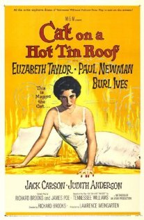 Cat on a Hot Tin Roof (1958) cover