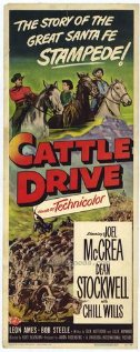 Cattle Drive (1951) cover