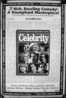 Celebrity 1998 poster