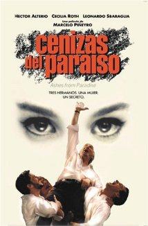 Cenizas del paraíso (1997) cover