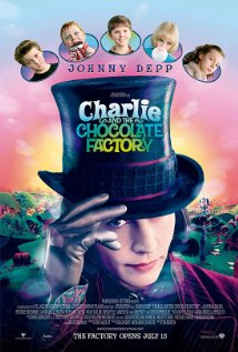 Charlie and the Chocolate Factory 2005 poster