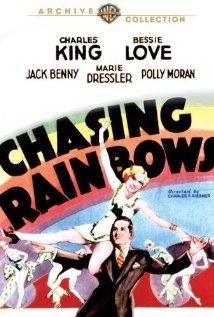 Chasing Rainbows 1930 poster