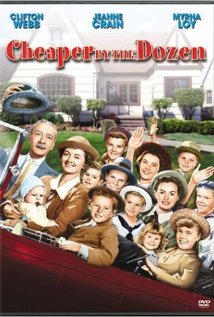 Cheaper by the Dozen (1950) cover