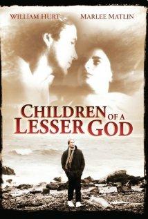 Children of a Lesser God (1986) cover