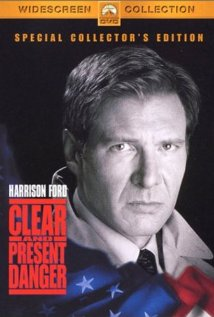 Clear and Present Danger (1994) cover