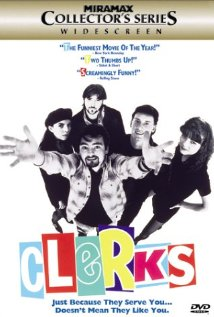 Clerks. (1994) cover