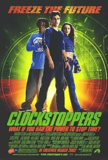 Clockstoppers (2002) cover