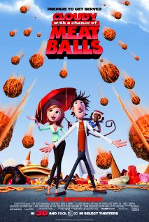 Cloudy with a Chance of Meatballs 2009 poster