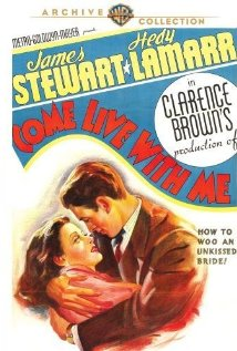 Come Live with Me (1941) cover