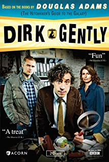 Dirk Gently 2012 poster