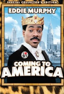 Coming to America (1988) cover