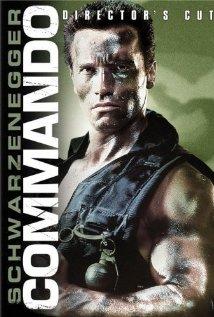Commando (1985) cover