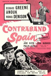 Contraband Spain (1955) cover