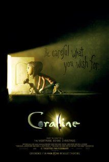 Coraline (2009) cover