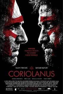 Coriolanus 2011 poster