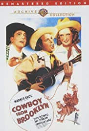 Cowboy from Brooklyn 1938 poster