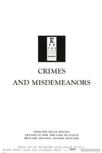 Crimes and Misdemeanors 1989 poster