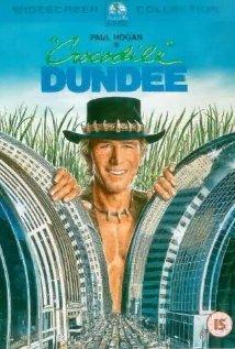 Crocodile Dundee 1986 poster