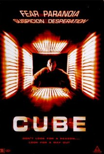 Cube 1997 poster
