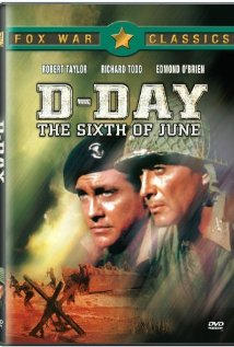 D-Day the Sixth of June 1956 poster