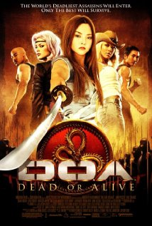 DOA: Dead or Alive 2006 poster
