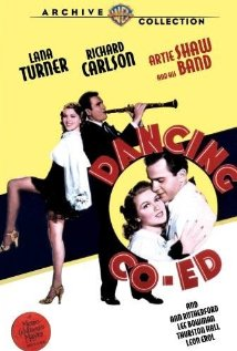 Dancing Co-Ed (1939) cover