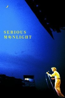 David Bowie: Serious Moonlight 1983 poster
