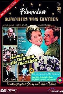 Davon träumen alle Mädchen (1961) cover