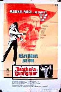 Death of a Gunfighter (1969) cover