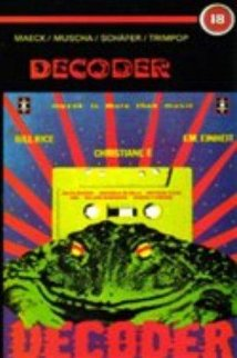 Decoder (1984) cover