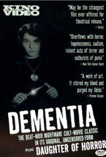 Dementia (1955) cover